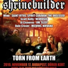 Hömpölygő basszusfolyam (Shrinebuilder, Torn From Earth koncert)